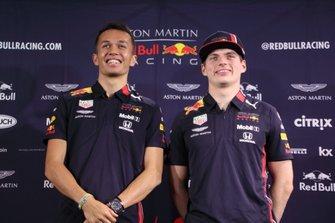 Alex Albon, Max Verstappen, Red Bull Racing