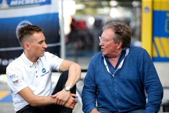 #10 Wayne Taylor Racing Cadillac DPi: Renger Van Der Zande with his father