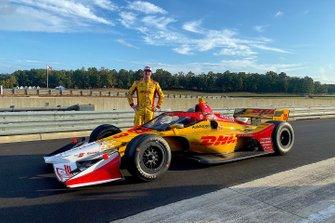 Aeroscreen-Test: Ryan Hunter-Reay, Andretti Autosport Honda
