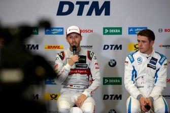 Press Conference, René Rast, Audi Sport Team Rosberg, Paul Di Resta, R-Motorsport