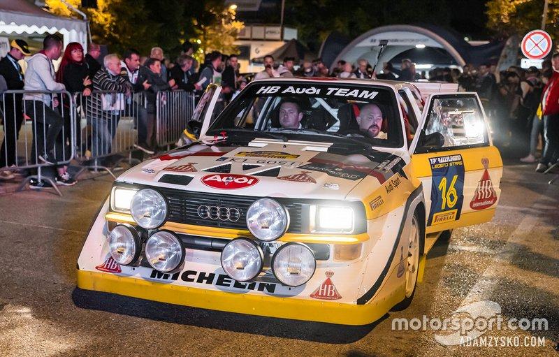 Grzegorz Olchawski, Łukasz Wroński, Audi Quattro S1