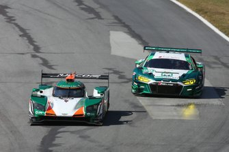 #50 Juncos Racing Cadillac DPi: Will Owen, Rene Binder, Spencer Pigot #29 Montaplast by Land Motorsport Audi R8 LMS GT3: Daniel Morad, Christopher Mies, Riccardo Feller