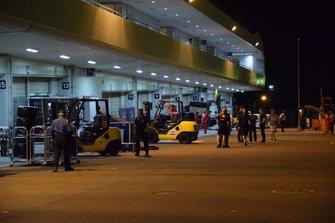 El circuito de Suzuka se prepara para la llegada del tifón Hagibis