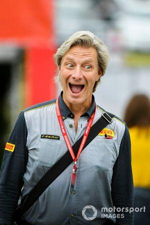 Roberto Boccafogli, Pirelli Head of F1 Communications