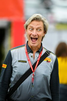 Roberto Boccafogli, Pirelli Head of F1 Communications