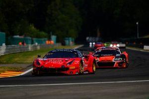 #14 Bohemia Energy racing with Scuderia Praha Ferrari 488 GT3: Jirí Písarík, Gabriele Lancieri, Josef Král, Matteo Malucelli