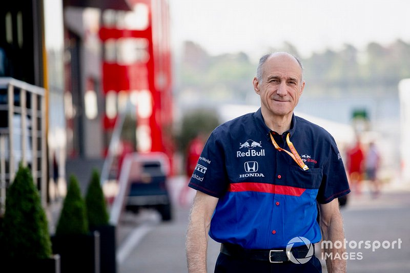 Franz Tost, Team Principal, Toro Rosso in the paddock