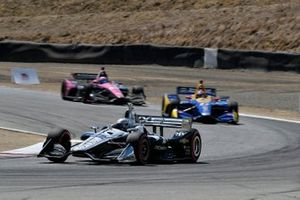 Simon Pagenaud, Team Penske Chevrolet, Alexander Rossi, Andretti Autosport Honda, Jack Harvey, Meyer Shank Racing with Arrow SPM Honda