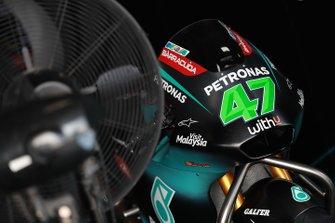 Adam Norrodin, SIC Racing Team, bike detail