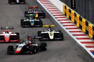 Leonardo Pulcini, Hitech Grand Prix Christian Lundgaard, ART Grand Prix en Jehan Daruvala, PREMA Racing