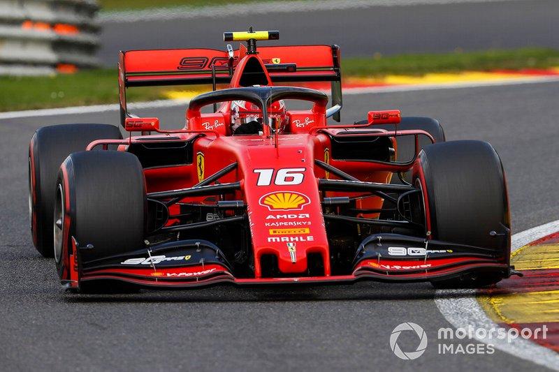 Belçika: Charles Leclerc, Ferrari
