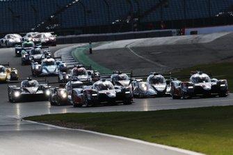 Le départ des 4 Heures de Silverstone