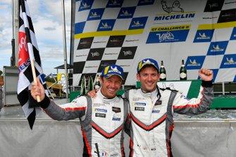 Race Winner #911 Porsche GT Team Porsche 911 RSR, GTLM: Patrick Pilet, Nick Tandy