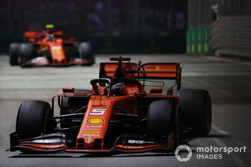 Singapore GP: Sebastian Vettel, Ferrari