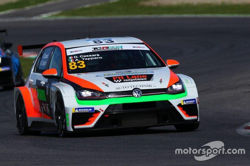 Alberto Tapparo, Diego Cassarà, Pit Lane Competizioni, Volkswagen Golf GTI TCR