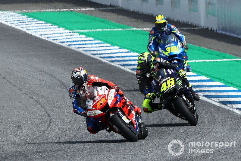 Jack Miller, Pramac Racing, Valentino Rossi, Yamaha Factory Racing, Joan Mir, Team Suzuki MotoGP