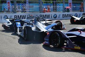 Jose Maria Lopez, Dragon Racing, Penske EV-3, Antonio Felix da Costa, BMW I Andretti Motorsports, BMW iFE.18, Robin Frijns, Envision Virgin Racing, Audi e-tron FE05