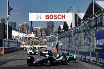 Sébastien Buemi, Nissan e.Dams, Nissan IMO1 Alex Lynn, Panasonic Jaguar Racing, Jaguar I-Type 3, Pascal Wehrlein, Mahindra Racing, M5 Electro