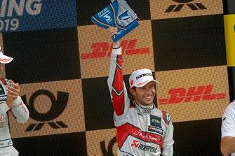 Podio: Terzo classificato Mike Rockenfeller, Audi Sport Team Phoenix