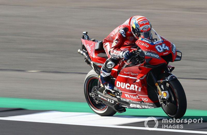Andrea Dovizioso luta pelo título na MotoGP