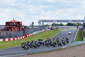 Start der Supersport-WM 2019 in Donington