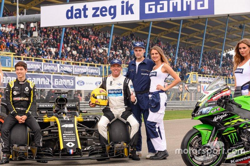 Een voormalig F1-coureur en een toekomstig F1-coureur?