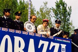 Gilles Villeneuve, Ferrari, al GP di San Marino del 1982