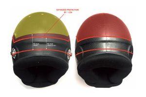 Schuberth helm detail