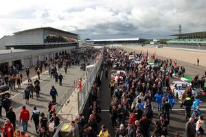 Griglia del BTCC alla Gara 2 di Silverstone