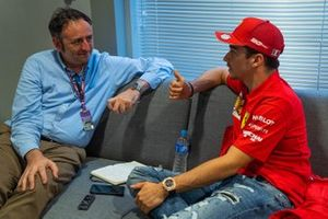 Intervista a Leclerc