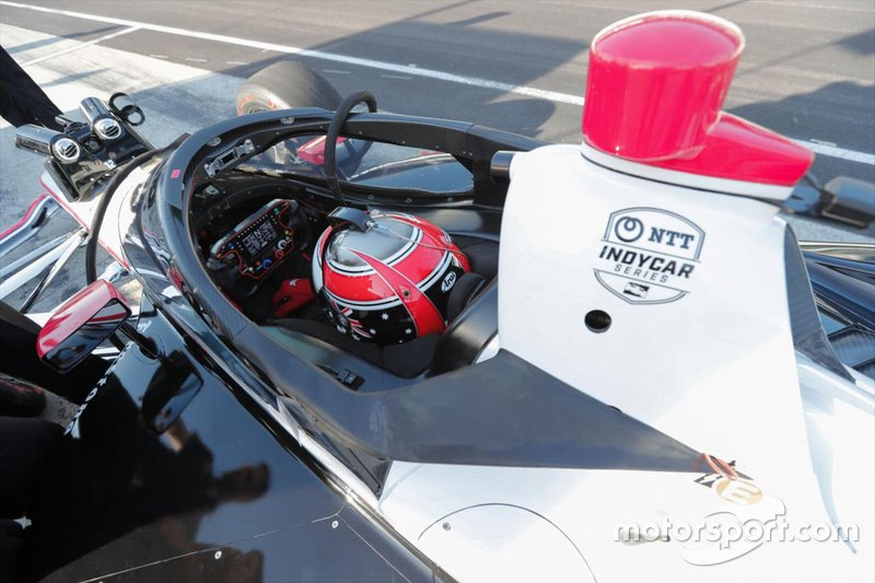 Aeroscreen-Test: Will Power, Team Penske Chevrolet