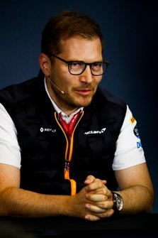 Andreas Seidl, teambaas McLaren