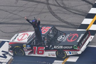Race Winner Austin Hill, Hattori Racing Enterprises