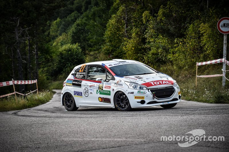 Alessandro Nerobutto, Michele Ferrara, Peugeot 208, Hawk Racing Club