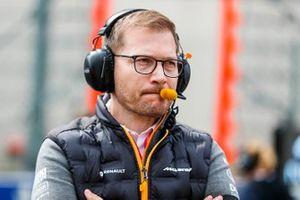 Andreas Seidl, Director McLaren