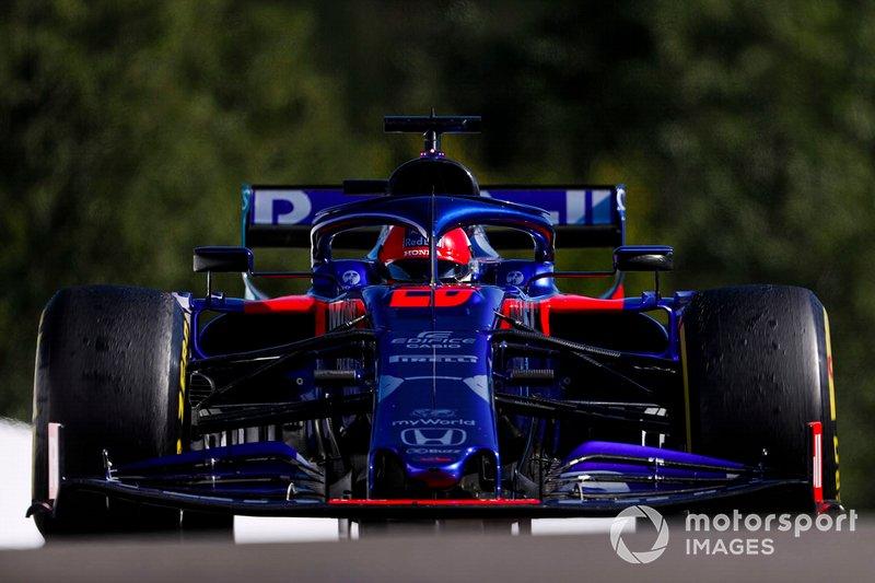 19. Daniil Kvyat: 1:46.518 (penalización por motor)