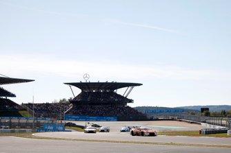 Jamie Green, Audi Sport Team Rosberg, Audi RS 5 DTM at the formation lap