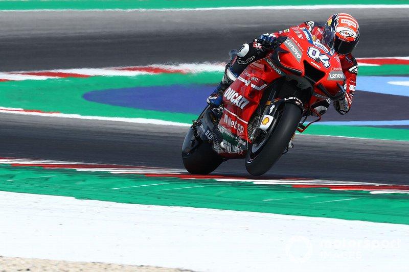 Ducati fuera de ritmo