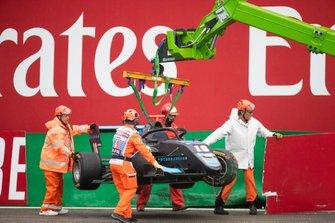 После аварии: Андреас Эстнер, Jenzer Motorsport