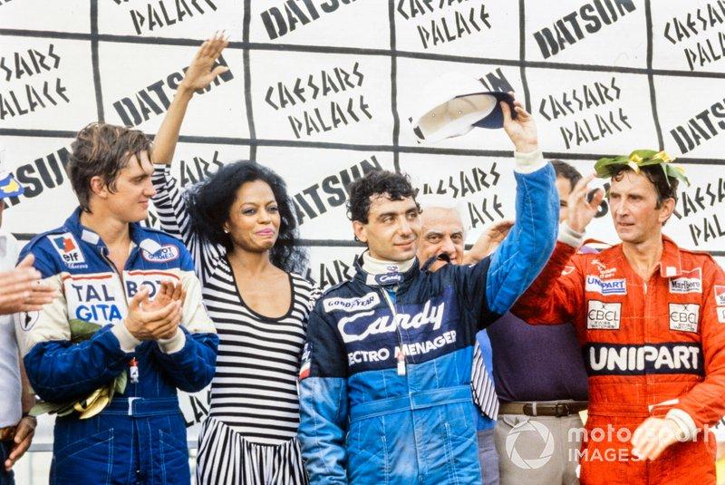 #73 Michele Alboreto, Tyrrell