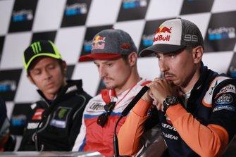 Valentino Rossi, Yamaha Factory Racing, Jack Miller, Pramac Racing, Jorge Lorenzo, Repsol Honda Team