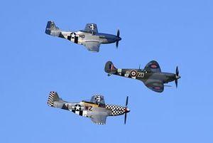 Aspectos Spitfire Mustangs