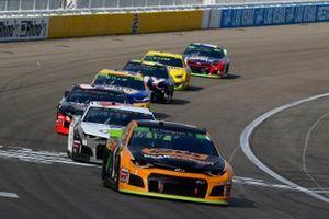 Kurt Busch, Chip Ganassi Racing, Chevrolet Camaro GEARWRENCH and Daniel Hemric, Richard Childress Racing, Chevrolet Camaro Cessna