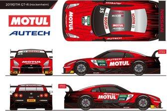 Livrea Nissan Super GT per il DTM