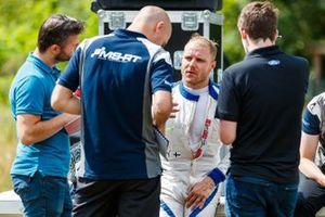 Valtteri Bottas teste une Ford Fiesta WRC de M-Sport