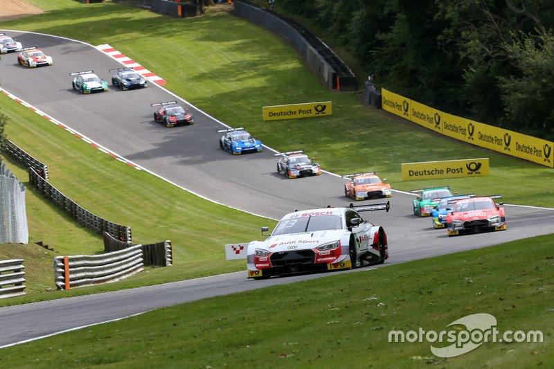 Start actie, René Rast, Audi Sport Team Rosberg, Audi RS 5 DTM