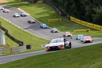 Partenza, René Rast, Audi Sport Team Rosberg, Audi RS 5 DTM leads
