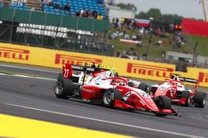 Jehan Daruvala, PREMA Racing, Christian Lundgaard, ART Grand Prix en Marcus Armstrong, PREMA Racing