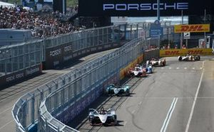 Sébastien Buemi, Nissan e.Dams, Nissan IMO1, Alex Lynn, Panasonic Jaguar Racing, Jaguar I-Type 3, Pascal Wehrlein, Mahindra Racing, M5 Electro
