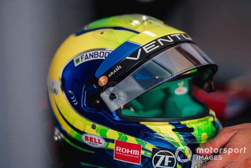 Helmet of Felipe Massa, Venturi Formula E
